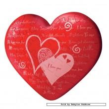Jigsaw puzzle 60 pcs - Hearts I Love You - Puzzleball (by Ravensburger)