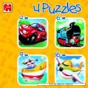 4 pcs - Vehicles (by Jumbo)