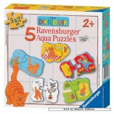 Jigsaw puzzle 2 pcs - Dikkie Dik - Aqua Puzzles (by Ravensburger)