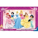 Jigsaw puzzle 15 pcs - Princess - Disney (by Ravensburger)