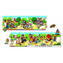 Jigsaw puzzle 20 pcs - Let's Build a Doghouse (by Jumbo)