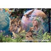 Jigsaw puzzle 3000 pcs - Lady of the Forest - Original (by Ravensburger)