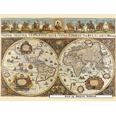 Jigsaw puzzle 3000 pcs - World Map, 1665 - Original (by Ravensburger)