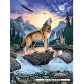 Jigsaw puzzle 1000 pcs - Call of the Wolf - Original (by Ravensburger)
