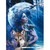1000 pcs - Goddess of the Wolves - Original (by Ravensburger)