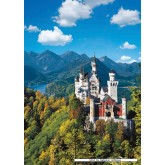 Jigsaw puzzle 1000 pcs - Neuschwanstein Castle in Autumn - Original (by Ravensburger)