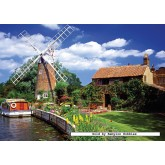 Jigsaw puzzle 1000 pcs - Windmill Country - Original (by Ravensburger)