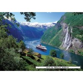 Jigsaw puzzle 1000 pcs - Norwegian Fjord - Original (by Ravensburger)