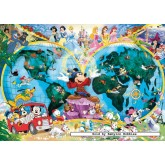 Jigsaw puzzle 1000 pcs - Disney's World Map - Original (by Ravensburger)