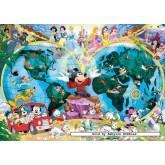 1000 pcs - Disney's World Map - Original (by Ravensburger)