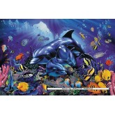 Jigsaw puzzle 500 pcs - Colourful Coral Reef - Christian Riese Lassen (by Ravensburger)