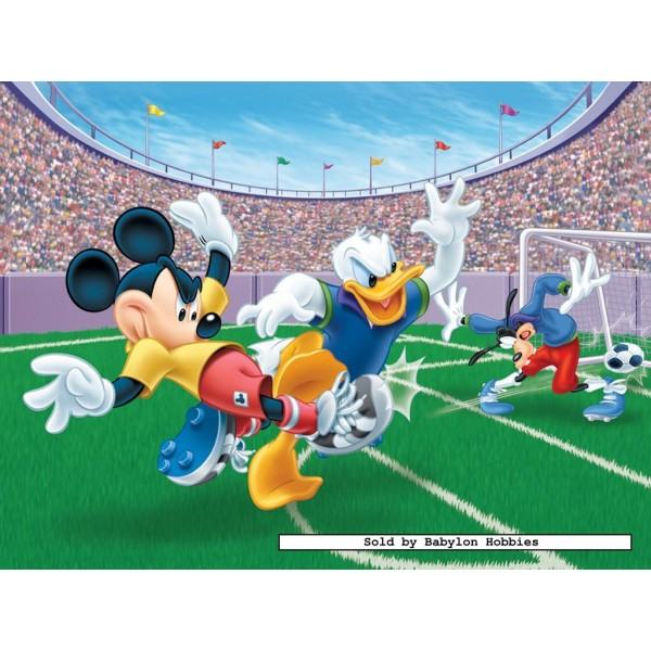 300 Pcs Mickey And Donald Football Disney By
