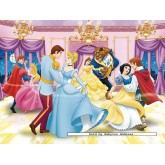 Jigsaw puzzle 300 pcs - Dancing Princesses - Disney (by Ravensburger)