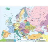 Jigsaw puzzle 300 pcs - Map of Europe (by Ravensburger)