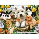 300 pcs - Happy Animal Buddies - Original (by Ravensburger)