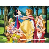 Jigsaw puzzle 200 pcs - Snow White and her prince - Disney (by Ravensburger)
