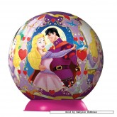 96 pcs - Pretty Princesses - Puzzleball Junior (by Ravensburger)