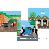 Jigsaw puzzle 49 pcs - Thomas Ready to Go (3x) - Thomas Locomotive (by Ravensburger)