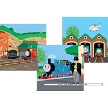 Jigsaw puzzle 49 pcs - Thomas Ready to Go (3x) - Thomas Locomotive (by Ravensburger)