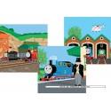 49 pcs - Thomas Ready to Go (3x) - Thomas Locomotive (by Ravensburger)