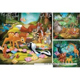 49 pcs - Bambi, Baloo and Simba - Disney (by Ravensburger)