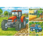49 pcs - Farm Machinery (by Ravensburger)