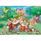 Jigsaw puzzle 20 pcs - The seven dwarfs - Disney (by Ravensburger)