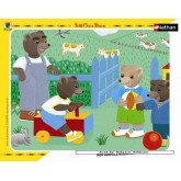 Jigsaw puzzle 35 pcs - Petit Ours Brun and friends (by Nathan)