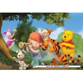 20 pcs - It's Piglet - Winnie The Pooh (by Ravensburger)
