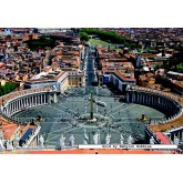 Jigsaw puzzle 2000 pcs - Rome - St Peter's Square (by Jumbo)
