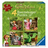 Jigsaw puzzle 6 pcs - Your Friends from Efteling Park - Progressive (by Ravensburger)