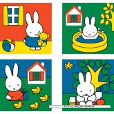 Jigsaw puzzle 6 pcs - Miffy - Progressive (by Ravensburger)