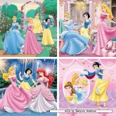 6 pcs - Lovely Princesses - Progressive (by Ravensburger)