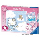 Jigsaw puzzle 49 pcs - Enchanting Hello Kitty - Hello Kitty (by Ravensburger)