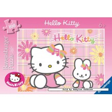 Jigsaw puzzle 100 pcs - Hello Kitty - Hello Kitty (by Ravensburger)