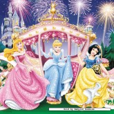 Jigsaw puzzle 49 pcs - Snow White - Disney (by Ravensburger)