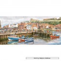 636 pcs - Whitby Harbour - John Wood (by Gibsons)