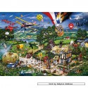1000 pcs - I Love the Country - Mike Jupp (by Gibsons)
