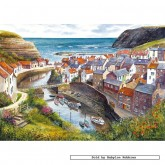 Jigsaw puzzle 1000 pcs - Staithes - Terry Harrison (by Gibsons)