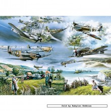 Jigsaw puzzle 1000 pcs - Their Finest Hour - Geoff Nutkins (by Gibsons)