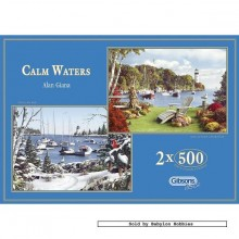 Jigsaw puzzle 500 pcs - Calm Waters - Alan Giana (by Gibsons)