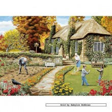 Jigsaw puzzle 500 pcs - A Year in the Garden (4x) - Trevor Mitchell (by Gibsons)