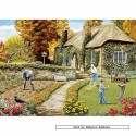 500 pcs - A Year in the Garden (4x) - Trevor Mitchell (by Gibsons)