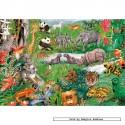 250 pcs - Alphabet Jungle - Gale Pitt (by Gibsons)