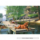 Jigsaw puzzle 500 pcs - Lazy Days - James Meger (by Gibsons)
