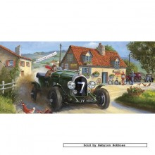 Jigsaw puzzle 636 pcs - Hell for Leather - Derek Roberts (by Gibsons)