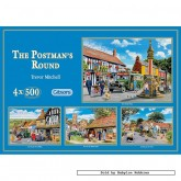 500 pcs - The Postman's Round (4x) - Trevor Mitchell (by Gibsons)
