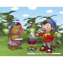 Jigsaw puzzle 30 pcs - Noddy has a barbecue (by Nathan)