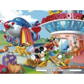 Jigsaw puzzle 30 pcs - Mickey at the Airport - Disney (by Nathan)