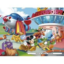 Jigsaw puzzle 30 pcs - Mickey at the Airport - Disney (by Nathan)